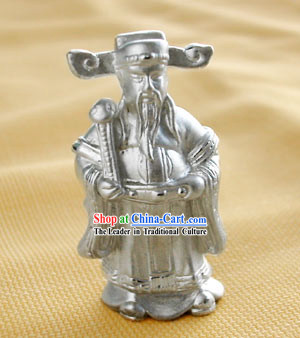 Chinese Delicate 925Silver Mammon