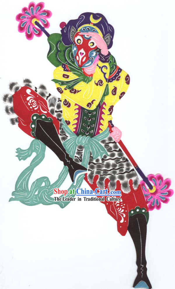 Chinese Hand Made Papercut - Sun Wukong Monkey King