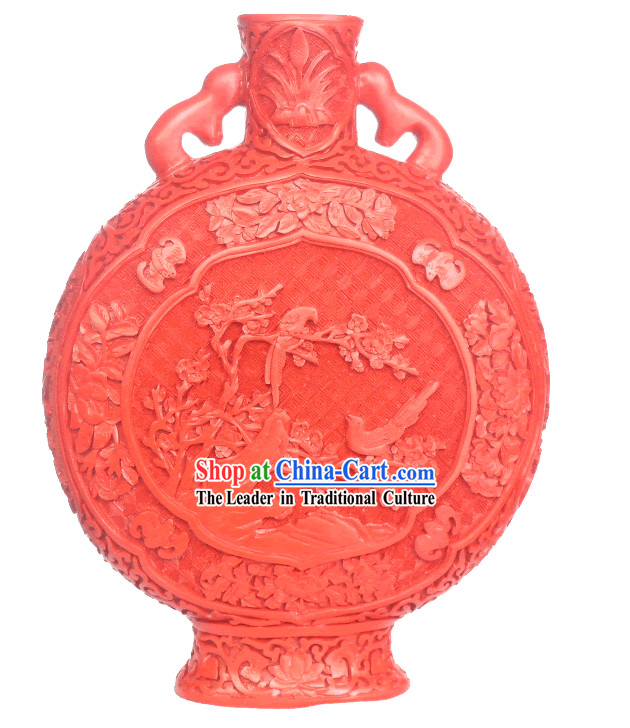 Chinese Palace Lacquer Works-Blessing Bottle