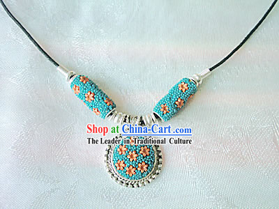 Tibet Sea Blessing Coral Necklace