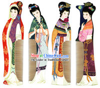 Chang Zhou Comb Series-Ancient Four Beauties_4 pieces set_
