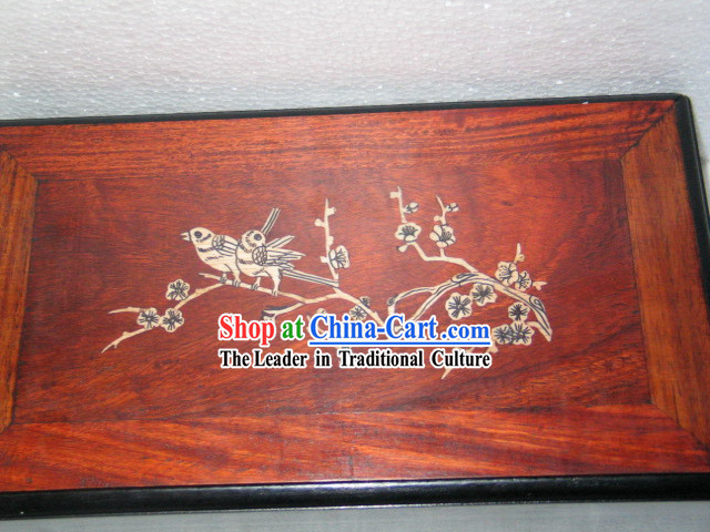 Chinese Anicent Palace Bamboo Bone Mahjong Set_144 pieces_