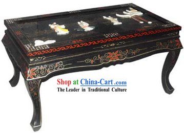Chinese Traditional Lacquer Ware Table