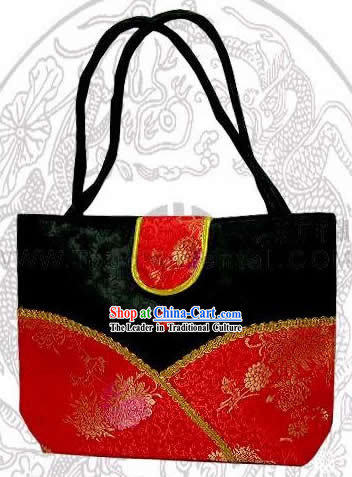 Chinese Noble Palace Silk Bag
