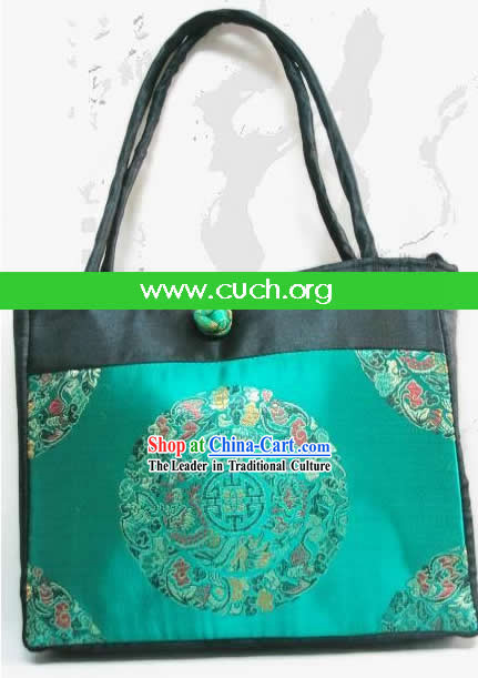 Chinese Classic Handmade Lucky Silk Bag