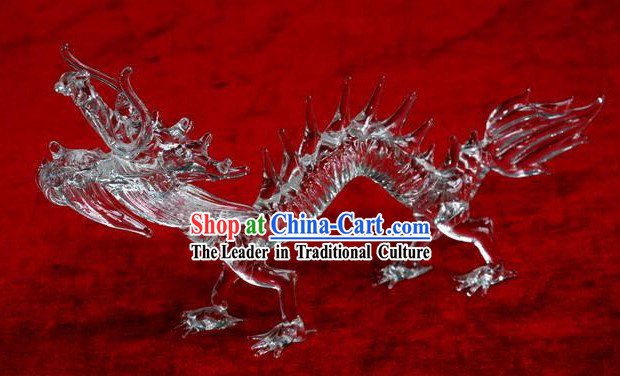 Chinese Classic Coloured Glaze Works-Flying Dragon
