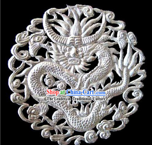 Chinese Stunning Silver Handicraft-Kylin