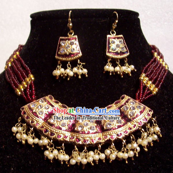 Indian Fashion Jewelry Suit-Purple Prince of the Blood