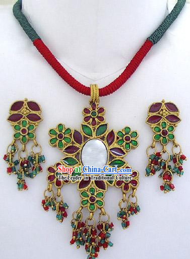 Indian Classical Jewellery Set-Summer Flower