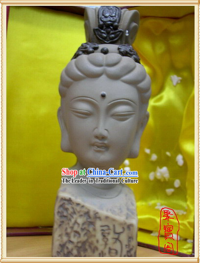 China Dunhuang Buddha Head Handicraft