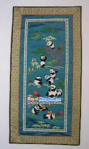 Chinese Embroidery Handicraft-Pandas 1