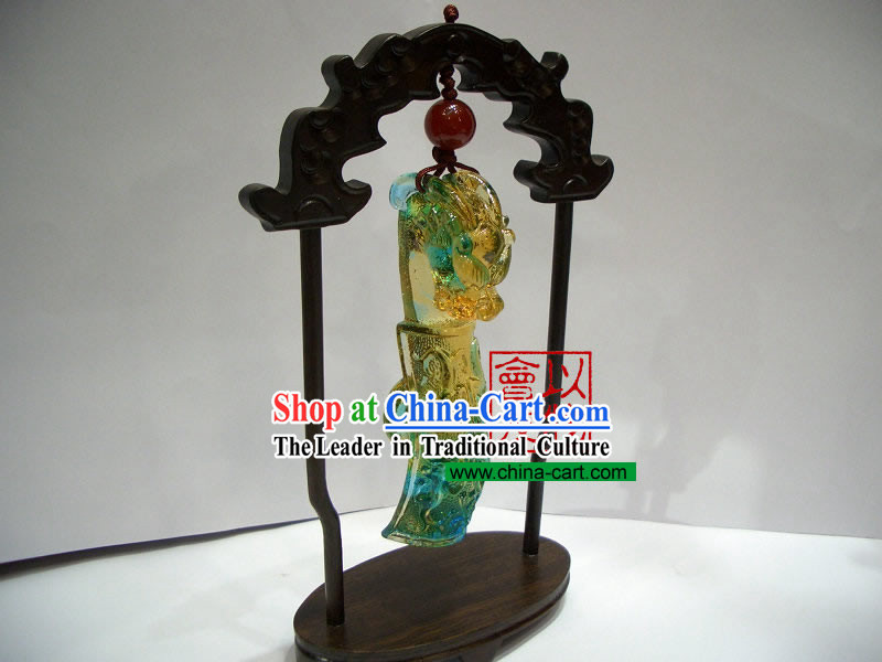 Chinese Classic Ancient Method Colored Glazed-Lucky Dragon