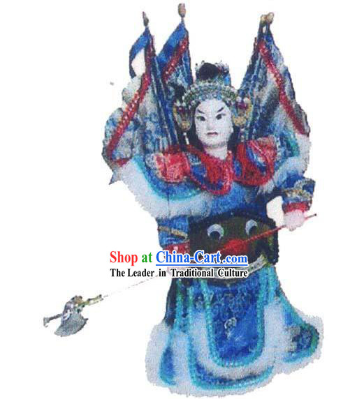 Chinese Traditional String Puppet - Ma Chao