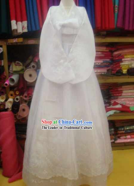 Korean 100% Handmade Korean Hanbok for Couple-Love Forever