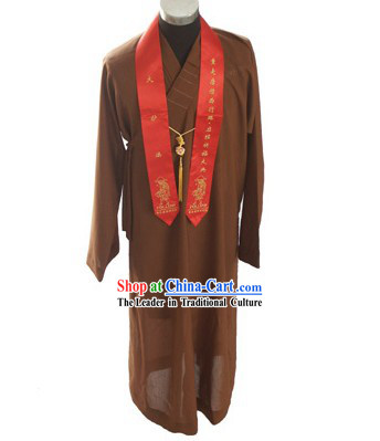 Chinese Shaolin Monk Robe _ Monk Costume