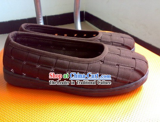 Kung Fu Practice Monk Shoes of Shaolin Temple _Coffee_