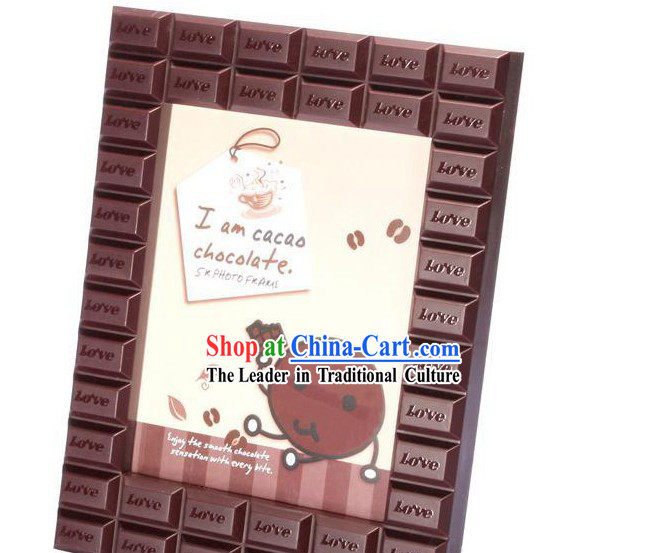Chocolate Picture Frame - Christmas Gift