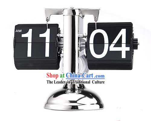 Electronic Balance Page Turning Desk Clock - Christmas and New Year Gift
