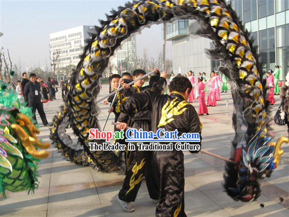 Chinese Classic Net Dragon Head Costume Complete Set