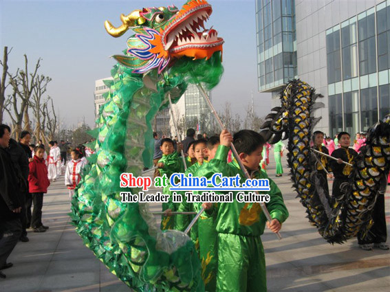 Chinese Classic Lightweight Net Dragon Dance Equipment Complete Set
