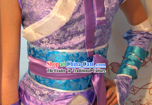 COSPLAY Chinese Ancient Women Fighter Costumes Complete Set