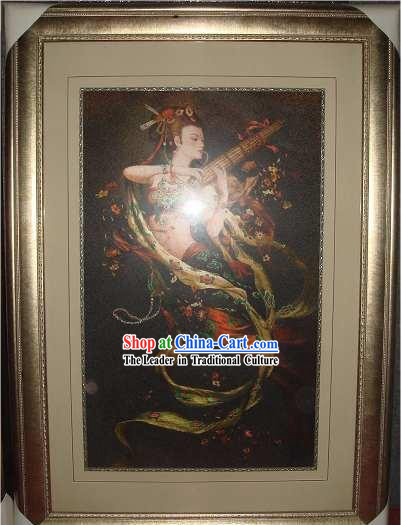 Supreme Chinese All Hand Embroidery Handicraft - Flying Fairy