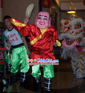 Happy Celebration Laughing Mask and Costumes Set