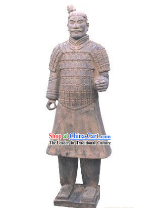 One of World's Eight Miracles China Terra Cotta Warrior