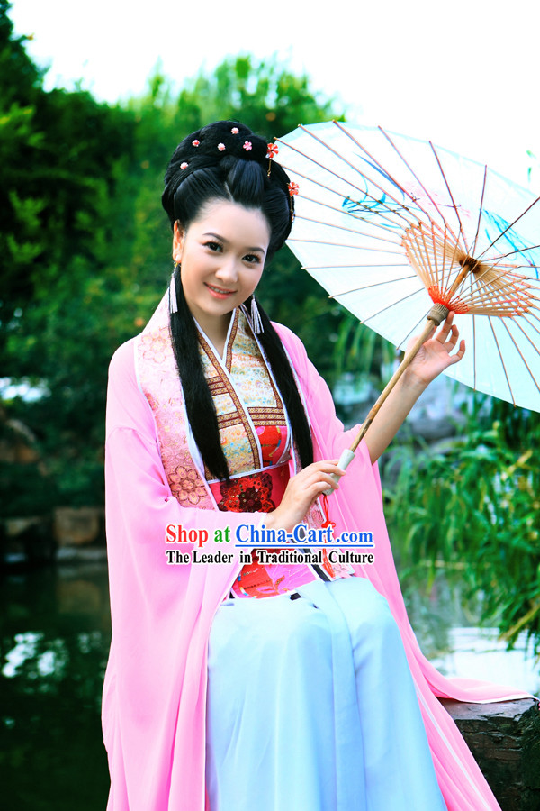 Ancient Chinese Xi Shi Beauty Costumes Set
