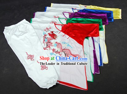 Professtional Embroidered Dragon Kung Fu Tai Chi Uniform for Kids