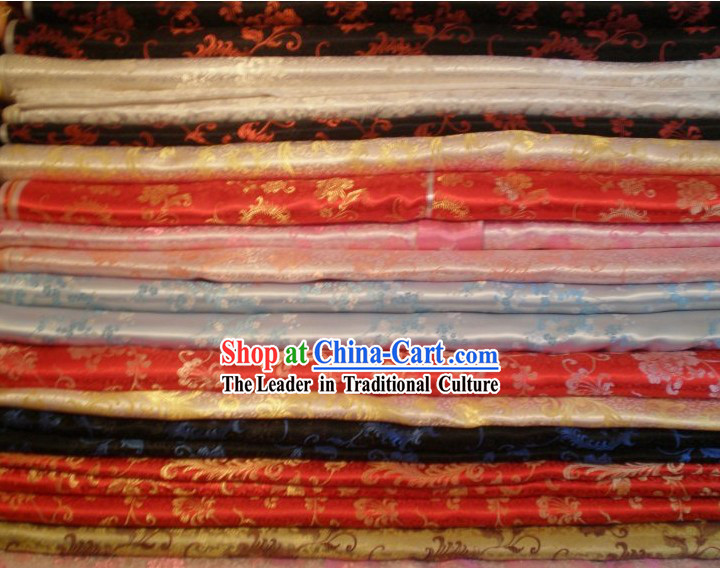Phoenix Tail Brocade Fabric