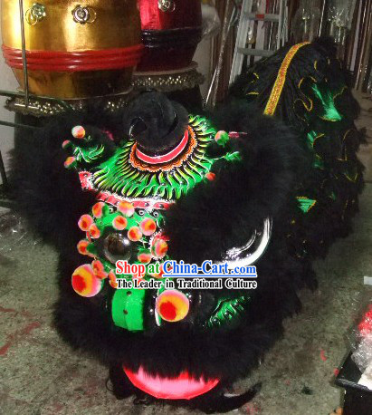 Top Professional Two Persons FUT SAN Lion Costumes Complete Set