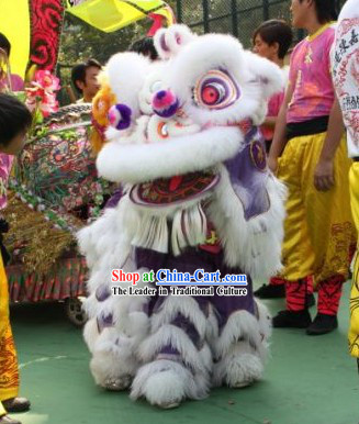 Competiton and Parade Lion Dance Costume Complete Set for Two Children
