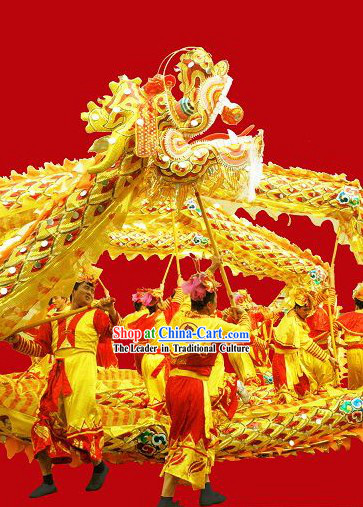 Best Beijing Olympic Games Opening Ceremony Dragon Dancing Costume Complete Set