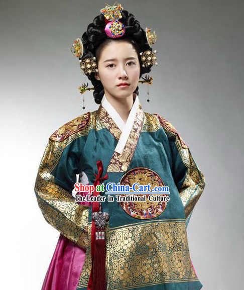 Korean Traditional Clothing Complete Set
