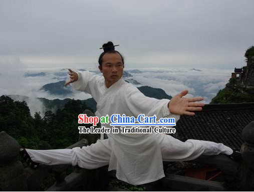 Chinese Wudang Mountain Taoist Tai Chi Costume