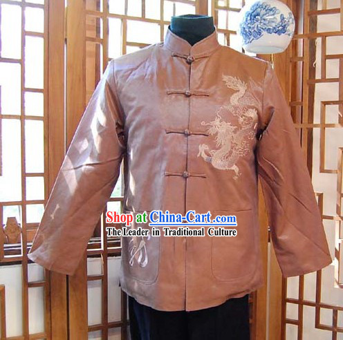 Chinese Classical Traditional Mandarin Blouse for Man