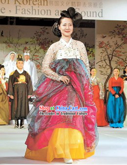 Ancient Korean Palace Dress Set for Women