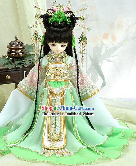 Chinese Traditional Princess Costumes Complete Set