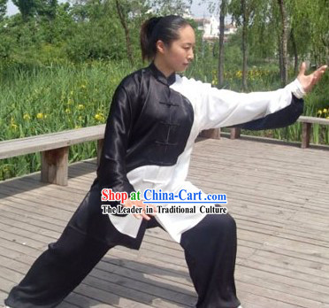 Traditional Chinese Silk Tai Chi Uniform Set