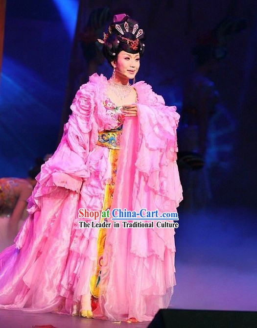 Ancient Tang Dynasty Costume Complete Set