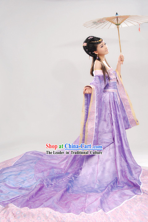 Ancient Chinese Palace Guzhuang Hanfu Complete Set