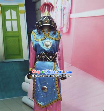 Hua Mulan Warrior Armor Costume Complete Set
