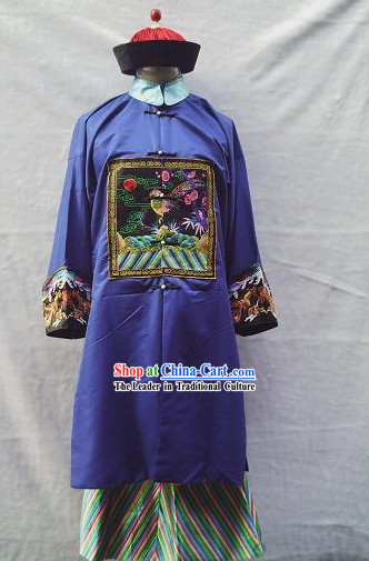 Chinese Ancient Ceremonial Court Dress of Officials