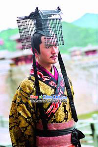Han Emperor Ancient Chinese Costumes Complete Set