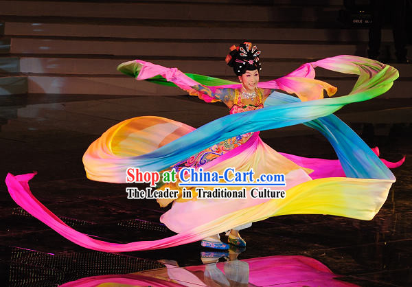 Chinese Classical Long Silk Dance Ribbon