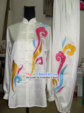 Chinese Tai Chi Cloud and Water Uniform Complete Set