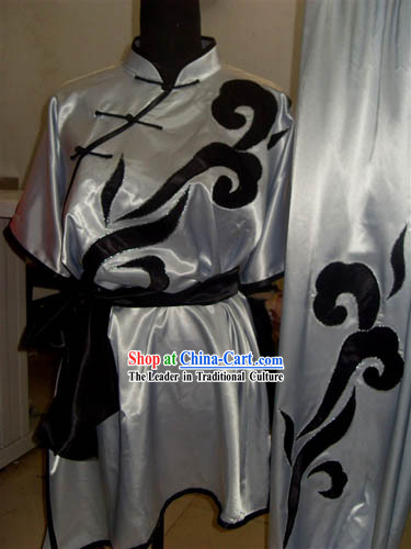 Traditional Chinese Wushu Costume Complete Set