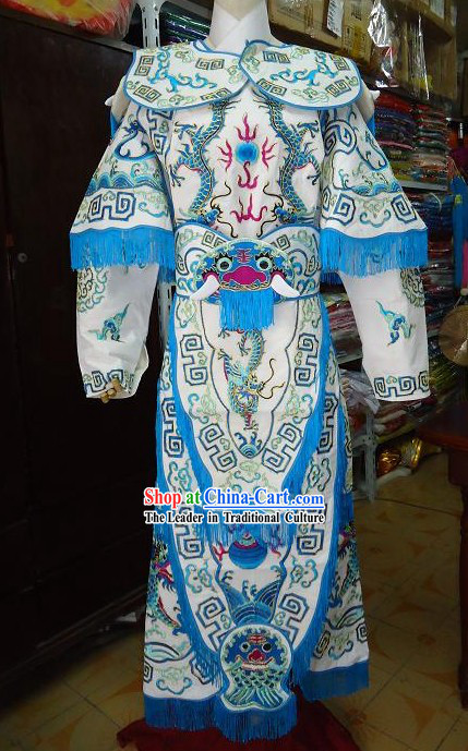 Traditional Peking Opera General Armor Costume