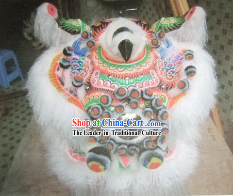 Old Style FUT SAN Lion Dance Master Costume Complete Set